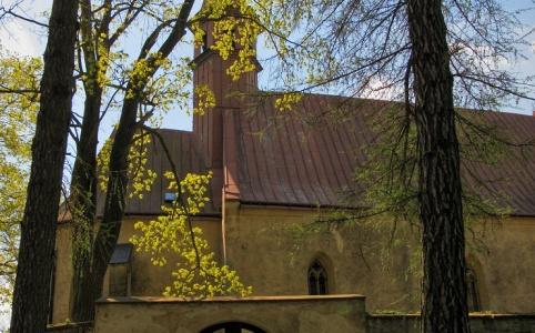 Polná, kostel sv. Kateřiny